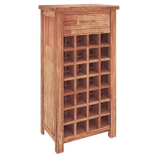 Cooper Mountain Ash Timber Wine Rack, Wine Rack Furniture Australia